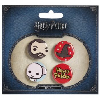 Harry Potter - Ansteck Buttons - Cutie Collection - Dobby & Hagrid