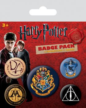 Harry Potter - Ansteck-Buttons - Hogwarts