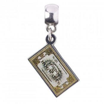 Harry Potter - Charm Anhänger - Hogwarts Express Ticket ea52443f48