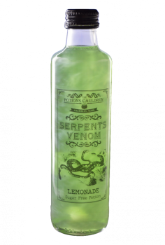 The Potions Cauldron - Serpents Venom - Sparkling Lemon & Lime Flavoured Drink (250ml)