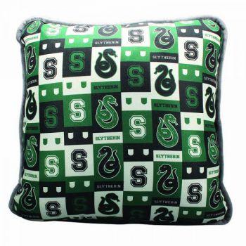 sieben k nigslande harry potter kissen s for slytherin 46 cm. Black Bedroom Furniture Sets. Home Design Ideas
