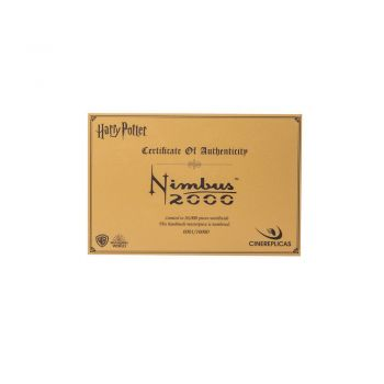 Harry Potter - Flugbesen Nimbus 2000 - Limited Edition