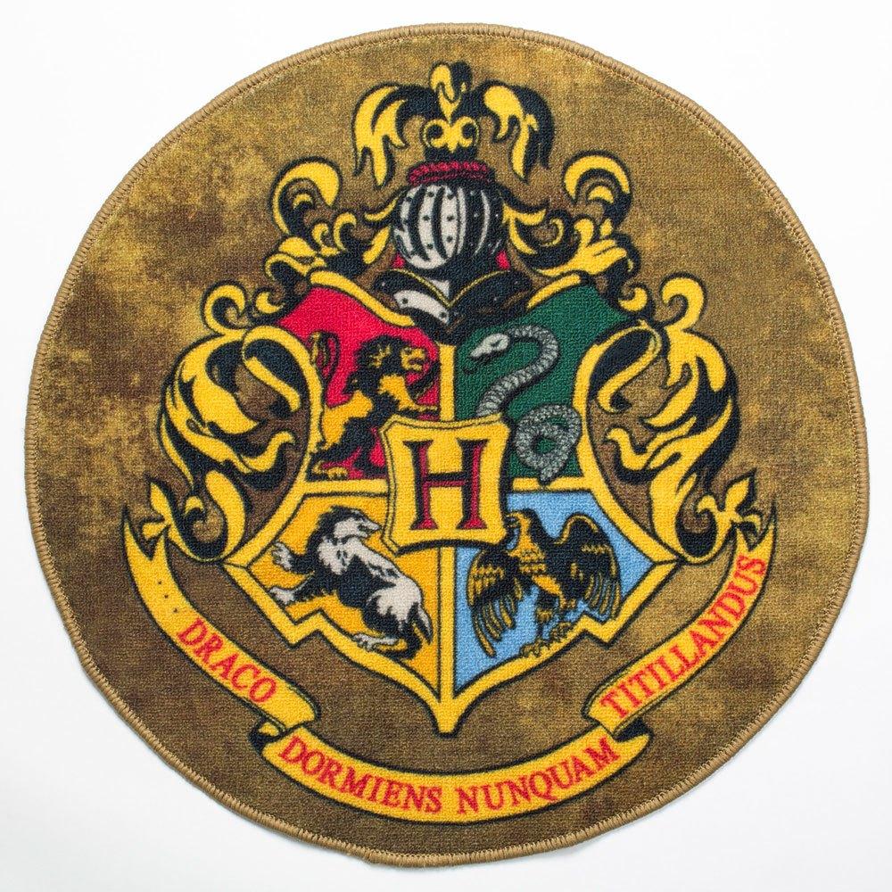 sieben k nigslande harry potter fu matte hogwarts wappen 61 cm. Black Bedroom Furniture Sets. Home Design Ideas