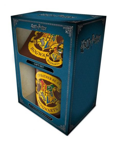 Harry Potter - Geschenkbox - Rather be at Hogwarts