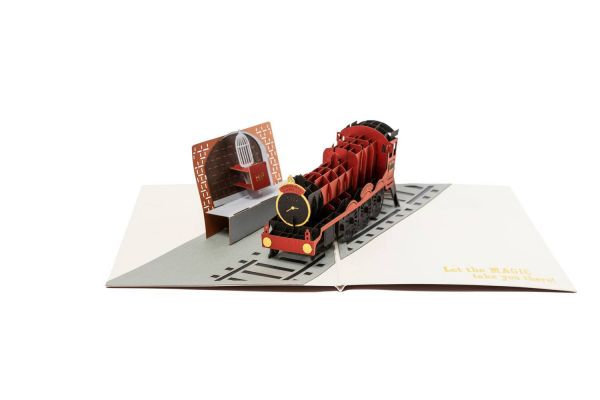 Harry Potter - 3D Pop-Up Grußkarte - Hogwarts Express