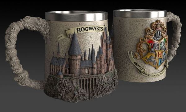 Harry Potter - 3D Tasse - Hogwarts